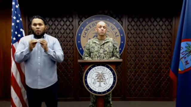 Guam press conference