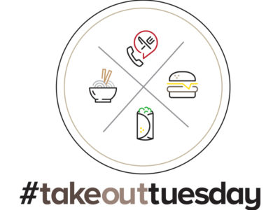 Take out Tuesday promotion