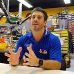 Legoland builder PJ Catalano is featured in online videos demonstrating assembly.