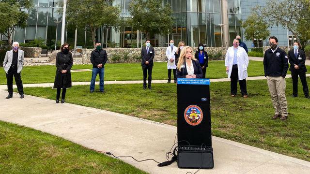 Palomar Ιατρικό Κέντρο Θα Φιλοξενήσει Προσωρινά 250-Κρεβάτι Ομοσπονδιακό Ιατρικό Σταθμό