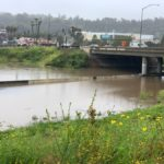 Route 78 flooding on Friday