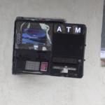 Damaged ATM