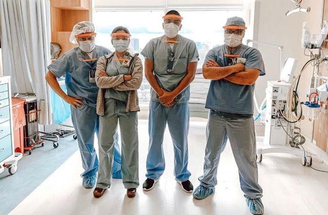 A Scripps Health medicla team