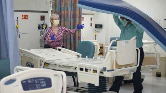 Gouverneur: Kalifornien Hat Hinzugefügt Fast 5.000 Krankenhausbetten, mit dem Ziel für 50.000