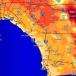 Forecast Tuesday high temperatures