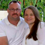 COVID-19 victim Charles Thacker with his wife, Symantha Thacker, in Facebook photo.