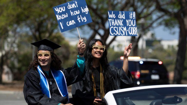 CSU San Marcos graduation