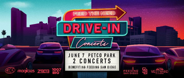 Drive-in concert promotion