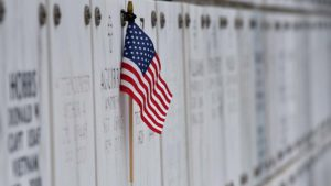 Flags were placed on some tombstones and markers at Fort Rosecrans Cemetery on Memorial Day.