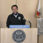 Supervisor Nathan Fletcher speaks at briefing