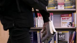 SAT preparation books