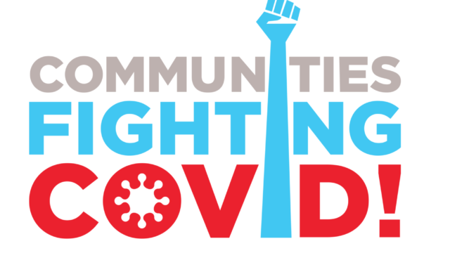 Communities Fighting COVID web page