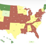 Red Door Interactive's map of state reopening times