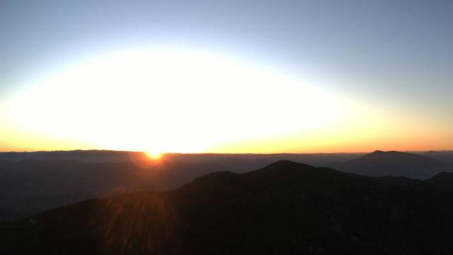 Sunrise from Otay Mountain