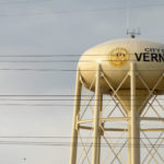 Water tower in Vernon