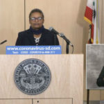 Dr. Wilma Wooten at Wednesday's media briefing