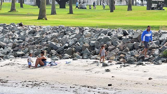 A beach in Coroando