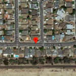 Vicinity of Mira Mesa house fire on Embassy Way.