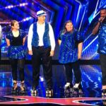 "Old School Skaters (from left) on ""America's Got Talent"" were Paul Dunham, Nicole Stewart, Paul Lee Jr. (PJ), Lisa Cuerden and La'Brian Lawrence."