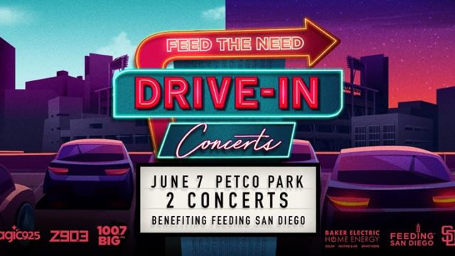 Concerts Benefits Drive In