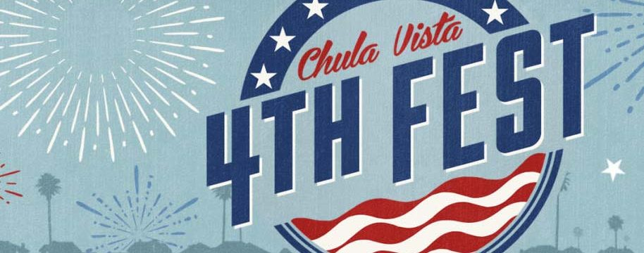 One-time logo for Chula Vista 4th Fest.