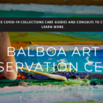 Homepage image from Balboa Art Conservation Center.