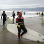 Black Girls Surf paddle out