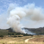 Fire at Camp Pendleton
