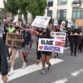 Protests in downtown San Diego