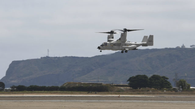 Navy's first operational Osprey
