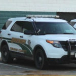 Tehama County Sheriff's cruiser