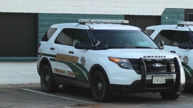 Tehama County Sheriff's cruiser