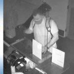 Suspect in La Mesa gun shop theft.