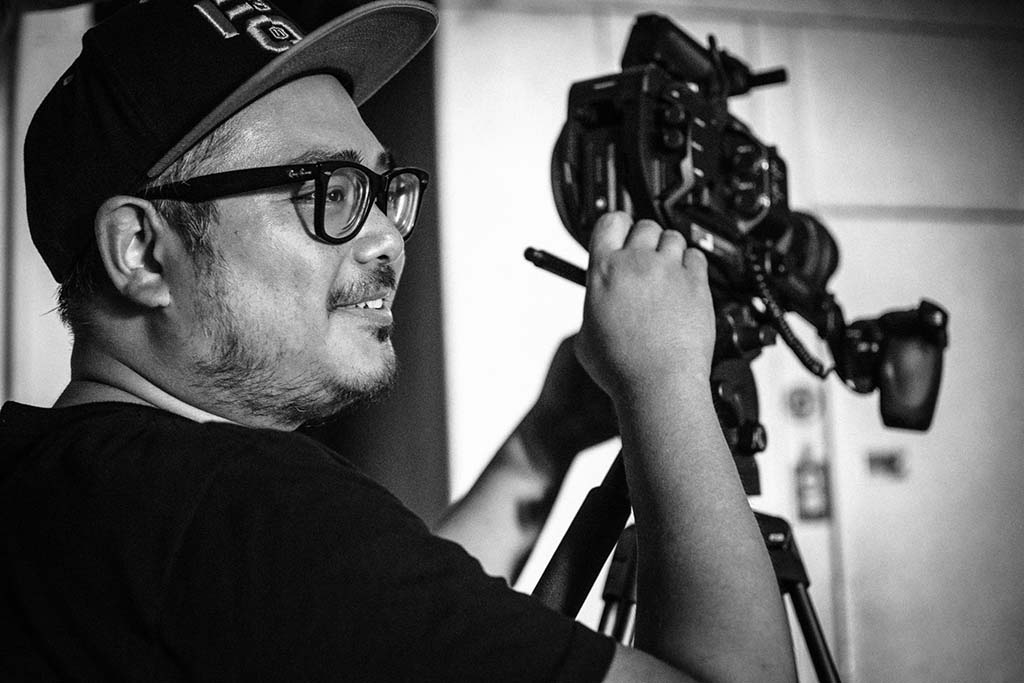 "Ray Gallardo was director of photography for ""Friend of the World."""