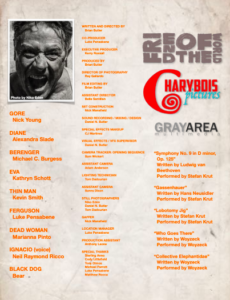 """Friend of the World"" credits (PDF)"