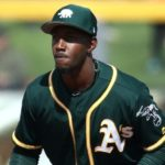 Jorge Mateo, who spent the 2019 season with Triple-A Las Vegas, was recently acquired from the Oakland Athletics in exchange for a player to be named later or cash considerations.