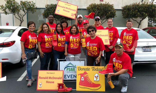 Red Shoe Day team