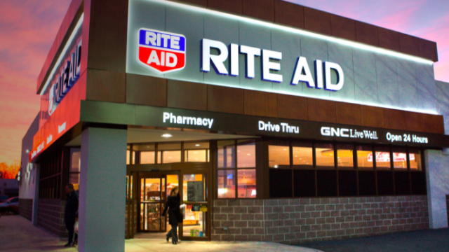 Rite Aid says testing will take place at Alpine, Fallbroook, Lemon Grove and Oceanside stores.