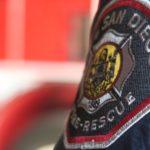 San Diego fire department uniform patch