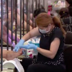Nail salons California businesses coronavirus