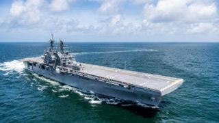 Future USS Tripoli