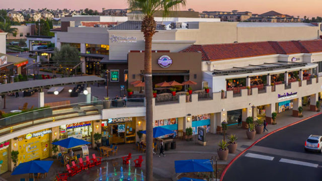 San Diego shopping centers small business