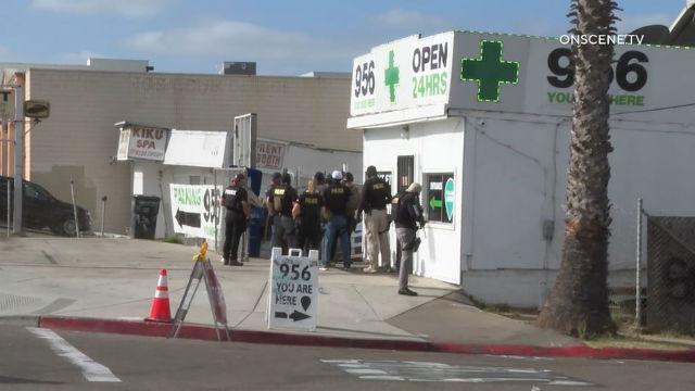 Chula Vista Police raid dispensary