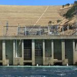 Powerhouse of the Don Pedro Dam