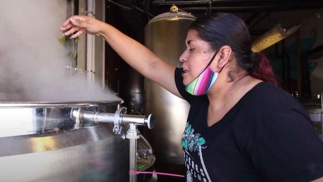 Esthela Davila of Mujeres Brew House