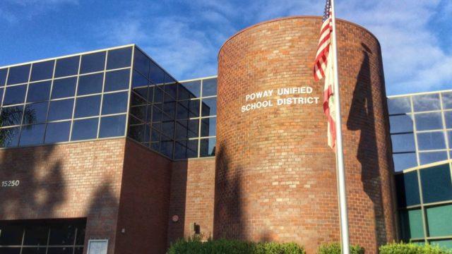 Poway Unified School District Headquarters.