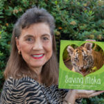 "Georgeanne Irvine with her new book ""Saving Moka"""