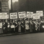 Suffragists protest in 1916