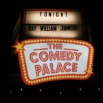 Comedy Palace sign