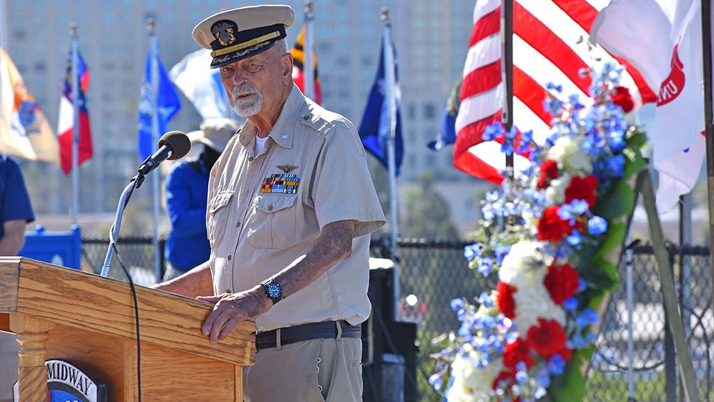 World War II Veteran Don Hubbard said the younger generation doesn't understand the sacrifices of the Greatest Generation.